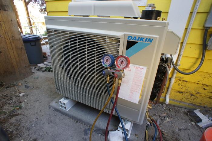 In Photos Ductless Heat Pump Installation Washington