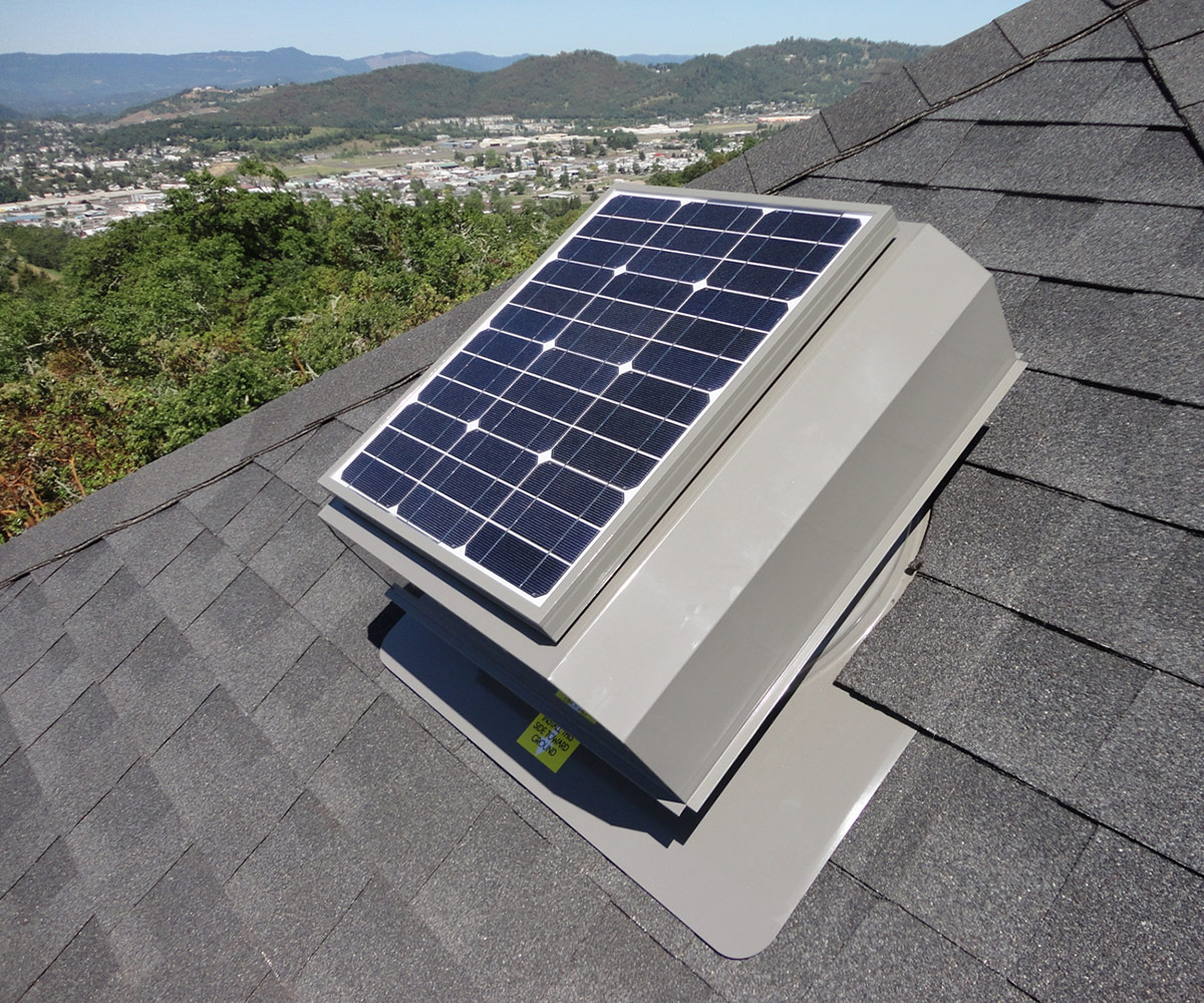 seattle solar attic fan installation sales