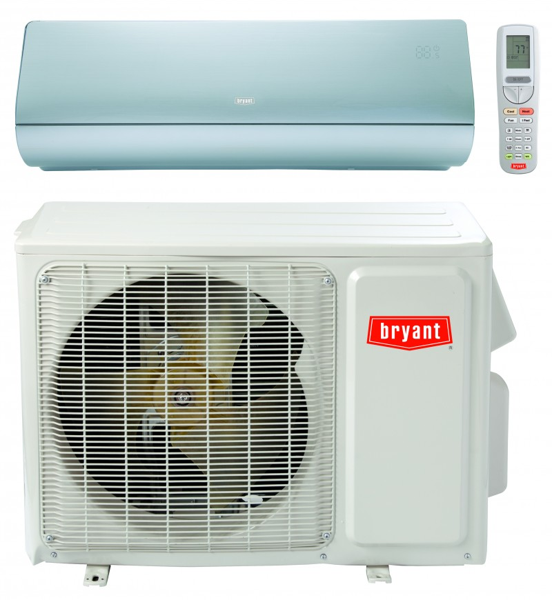 shelton wa bryant single zone ductless heat pump installation