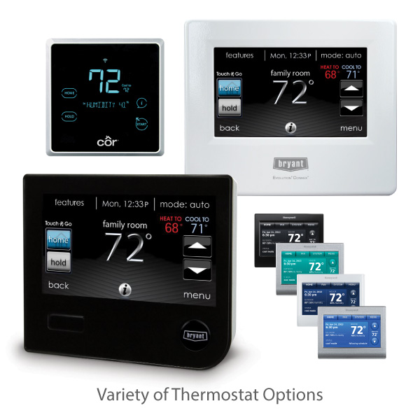 Seattle smart home thermostats