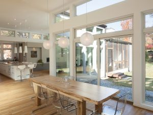 Anderson 100 Series Dining Room replacement windows seattle