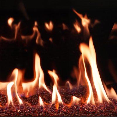 seattle wa archgard dvi 31 gas fireplace amber fire beads