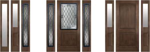 bellevue wa rustic side glass door for sale