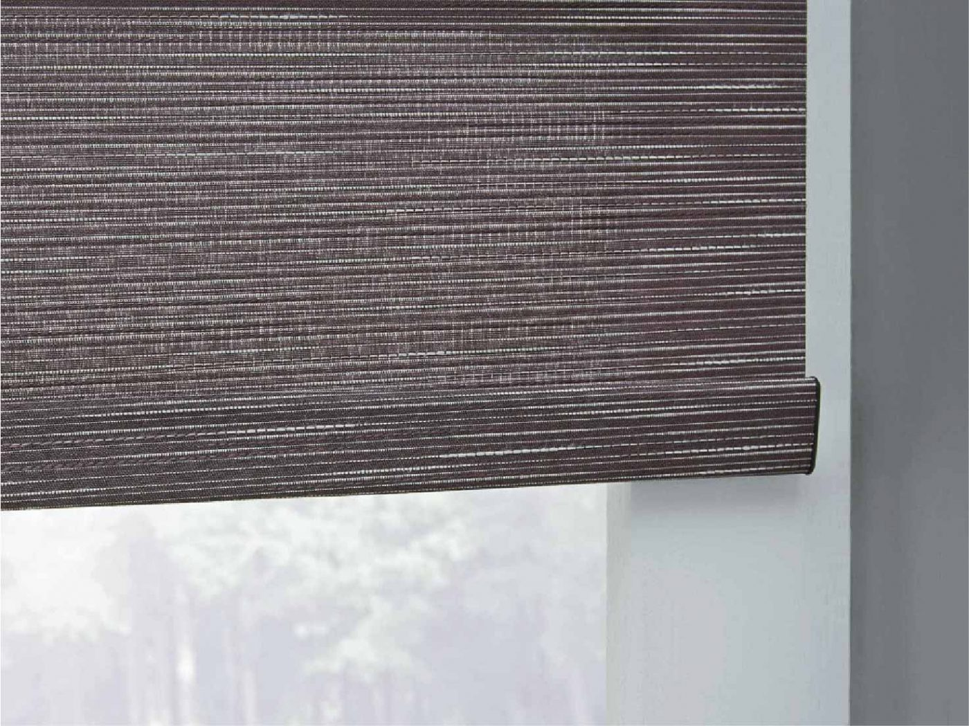window shades fabric dark gray Tacoma
