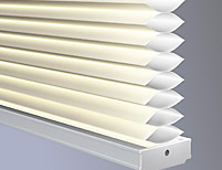 Lutron insulating honeycomb shades Light-Filtering Single Cell