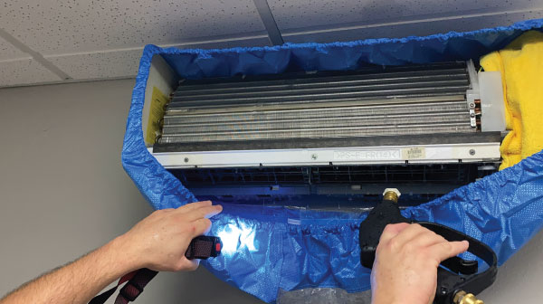 minisplit deep cleaning ductless deep cleaning